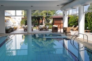 Swimming Pool, Hotel Kalloni, Volos, hotels, rooms, accommodation, vacations, pool, Nees Pagases, Alykes